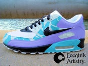 "Image of ""Sublime Visuals"" Custom Air Max 90 (w. free t-shirt)"