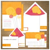 Image of Invitations | Wedding<BR>{A Bunch of Love}