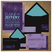 Image of Invitations | Wedding<BR>{Starlight Flower}