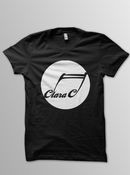 Image of CLARA C Logo Shirt (Black)