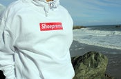 Image of Shoepreme Hoody - White/Red