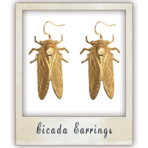 Image of Cicada Earrings