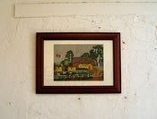 Image of Oh Sorry, was that your Land? Radical Cross Stitch original