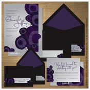 Image of Invitations | Wedding<BR>{Metro Bloom}