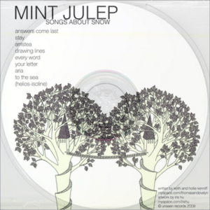 Image of Mint Julep | Songs About Snow (CD-R) (TEMPORARILY SOLD OUT)