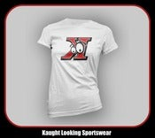 Image of Kaught Looking Backwards &quot;K&quot; Logo (Women) &quot;Home Jersey&quot;