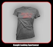 Image of Kaught Looking Script Logo (Women) &quot;Away Jersey&quot;