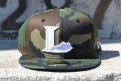Image of lexington legends camo new era fitted hat