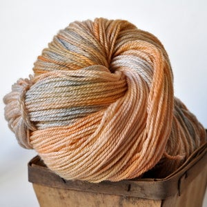 Image of cleme. climbing yarn. sw merino/bamboo/nylon. sock yarn.