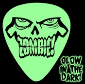 Image of ZOMBIE! Glow in Dark Guitar Picks!