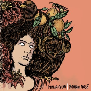 "Image of Ninja Gun - Roman Nose 12"" EP + MP3"