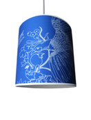 Image of pheasant lampshade