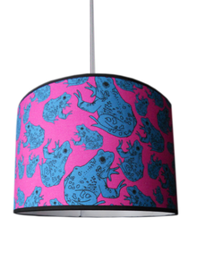 Image of frog lampshade