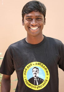 Image of Wilbur Sargunaraj LOGO  T Shirt