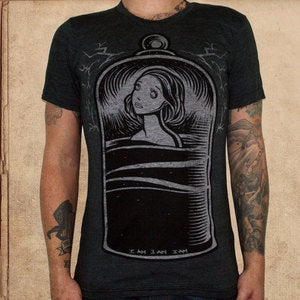 Image of the Bell Jar - triblend black - unisex (restocked)