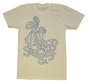 Image of Leaf Tee (White)