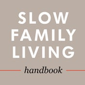 Image of Slow Family Living Handbook (e-book)