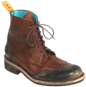 Image of No.0008 INTERCHANGE wingtip boot Tan