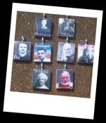 Image of American Authors Series Scrabble Tile Pendants