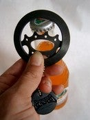 Image of LARGE Recycled Bike Gear Bottle Opener