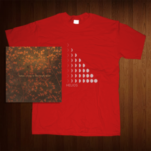 Image of Helios | SMALL shirt and cd bundle