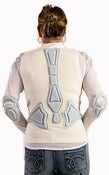 Image of WHITE MESH ARMOR JACKET