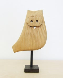 Image of Vintage Wood Owl