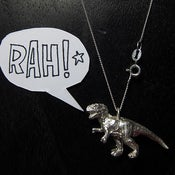 Image of Solid Silver T-REX