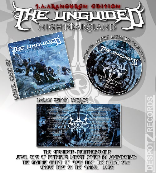 Image of The Unguided - Nightmareland [CD]