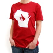 Image of Thumbs Up Wisconsin T-Shirt