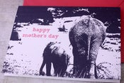 Image of Happy Mother's Day Elephant card