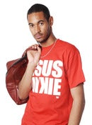 Image of JJ ORIGINAL RED LOGO TEE - Men