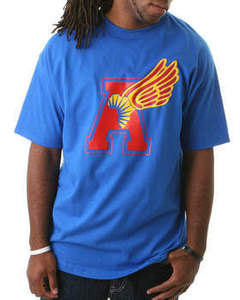 Image of Africa is Fly Mens - Blue