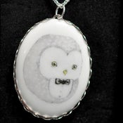 Image of Owl with Bowtie Necklace