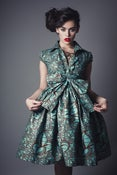 Image of Mint and Chocolate Shirt Dress