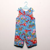 Image of Storybook Shortalls - 18 months