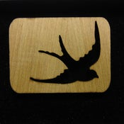 Image of Wood Swallow Brooch