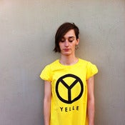 Image of YELLE logo (yellow) - Tee shirt