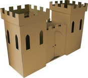 Image of Kid-Eco Regular Cardboard Castle