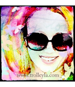 Image of ♥Retro 60's Glamour Art Print-Sunglasses♥