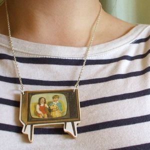 Image of Television Necklace
