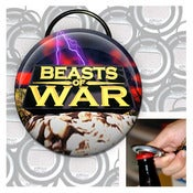 Image of Beasts of War keychain bottle opener