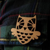 Image of Hootie brooch