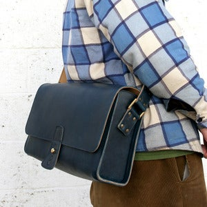 Image of Postman Leather Bag