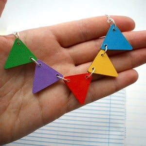 Image of • Carnival • Bunting Necklace