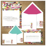 Image of Invitations | Wedding<BR>{Color Bazaar}