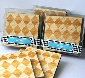 Image of Argyle coasters