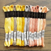 Image of Cosmo Embroidery Floss Palette : Spring