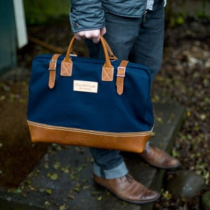 Image of Wood&Faulk Deluxe 16in Carpenter's Bag