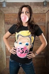 Image of Ass-Backwards Tee (Dolls)
